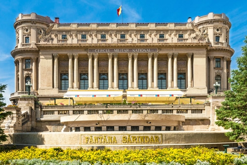 Military-Circle Palace Bucharest Essential Tour