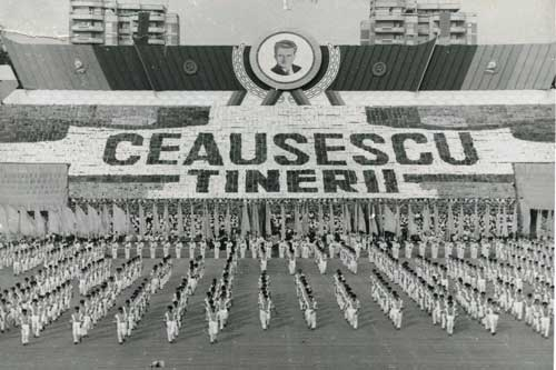 bucharest tour communism-nicolae-ceausescu-parade