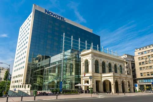 novotel and calea victoriei avenue bucharest tour