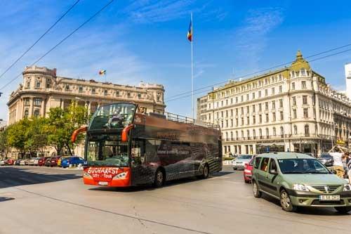 Panoramic tour Bucharest