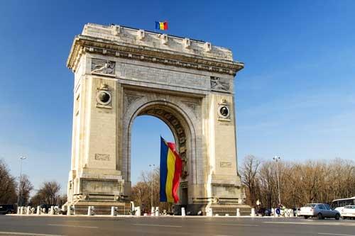 Panoramic-tour-Bucharest Triumphal Arch Bucharest