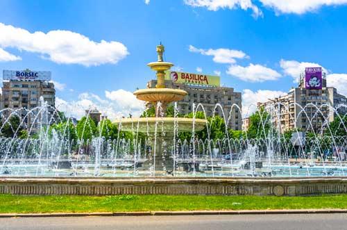 unirii-square-fountains